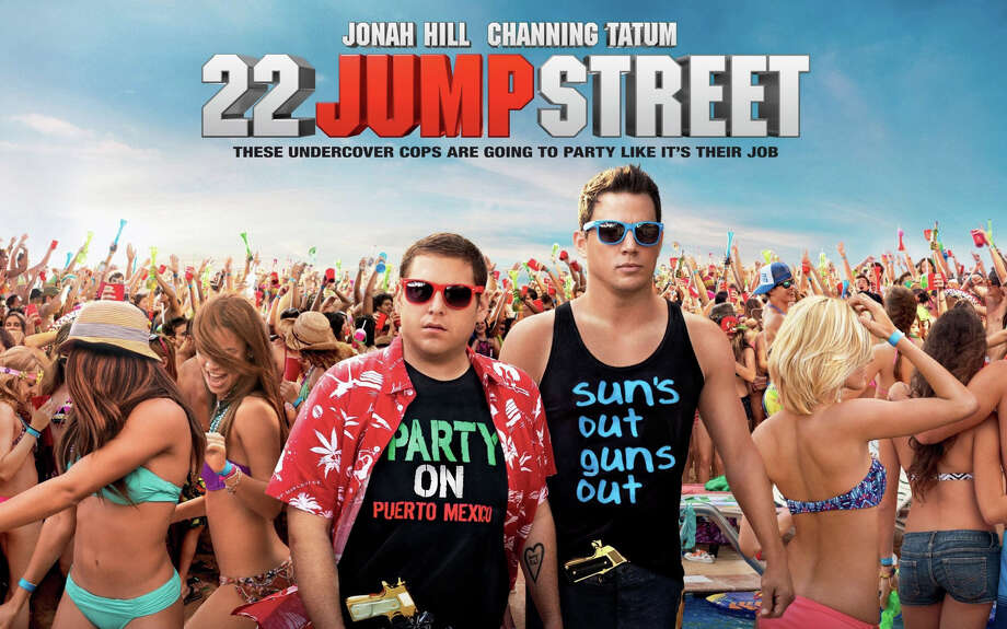 "The new movie, ""22 Jump Street,"" starring Jonah Jill and Channing Tatum, is playing in area theaters. Photo: Contributed Photo / Westport News"