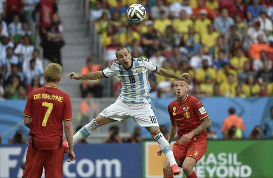 July 5  Argentina 1, Belgium 0 Photo: MARTIN BUREAU, AFP/Getty Images / AFP