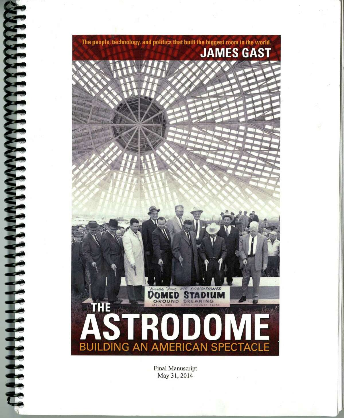 The Astrodome Book.