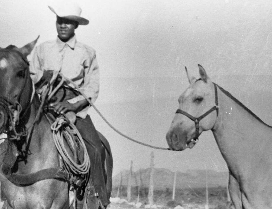 Blas Payne, a Black Seminole, was known as one of the best cowboys ever to work on Big Bend ranches. He died in 1990 at age 88. Photo: Museum Of The Big Bend, Sul Ross / Museum of the Big Bend, Sul Ross