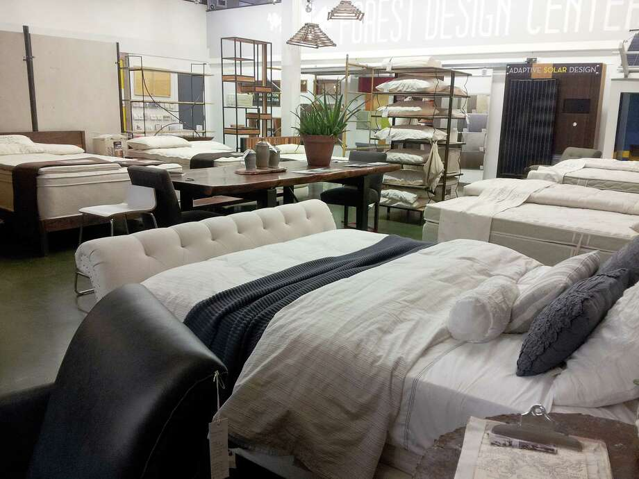 At the two New Living furnishings stores in Houston, customers come in with doctor's prescriptions for organic mattresses and bedding. Photo: Ingrid Lobet / Houston Chronicle