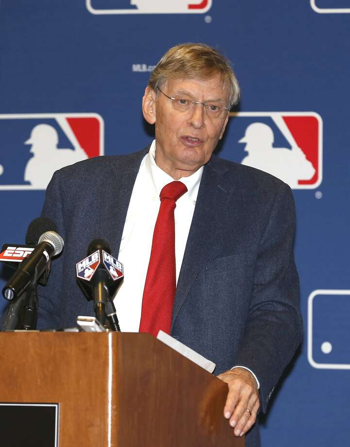 Commissioner Bud Selig sent an arm-twisting bluff suggesting the A's could leave Oakland. Photo: Reinhold Matay, Associated Press