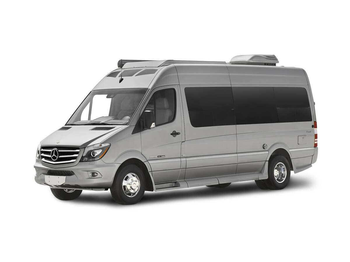 Motor vehicles equipped with the amenities of home have been around for more than a century, although some landmark moments are more dubious than others. Scroll through the gallery for a brief evolution of the motor home. Pictured: A modern Mercedes Sprinter van by Roadtrek offers luxury features.