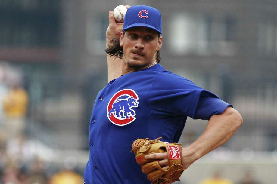 Jeff Samardzija, traded from the Cubs to the A's on Friday, debuts for Oakland today against Toronto. Photo: Justin K. Aller / Getty Images / 2014 Getty Images