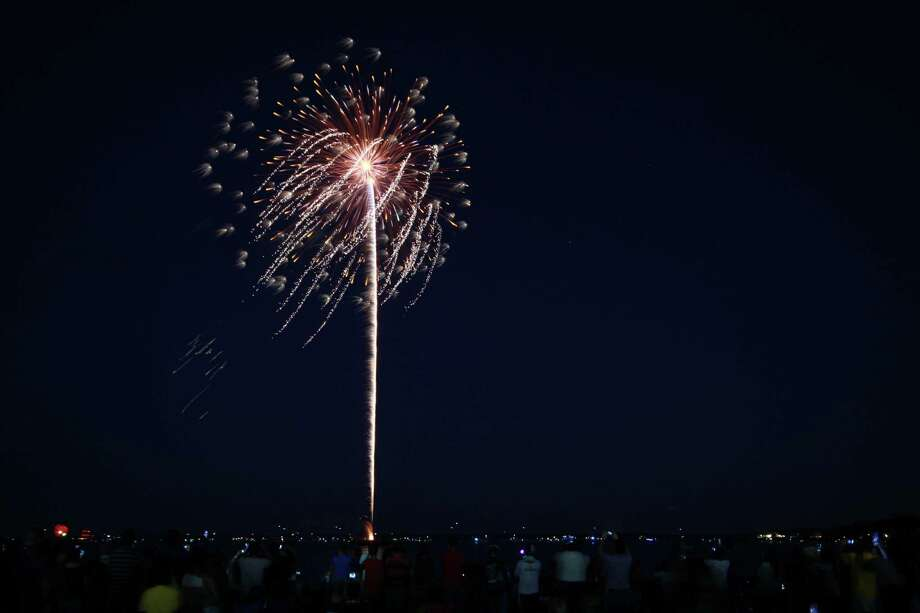 The city of Stamford's annual fourth of July fireworks display at Cummings Park was held on Saturday, July 5. Were you SEEN? Photo: Derek T.Sterling, Hearst Connecticut Media Group