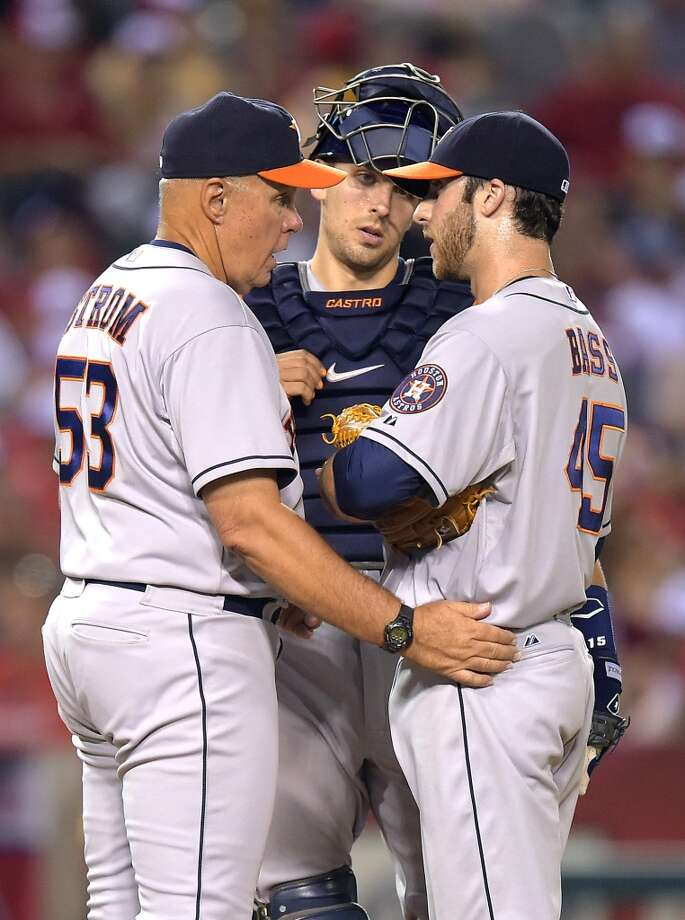 July 5: Angels 11, Astros 5  The Astros' bullpen was ineffective during an 8-run 7th inning and now Houston looks to avoid a sweep with a win on Sunday.  Record: 36-53. Photo: Mark J. Terrill, Associated Press