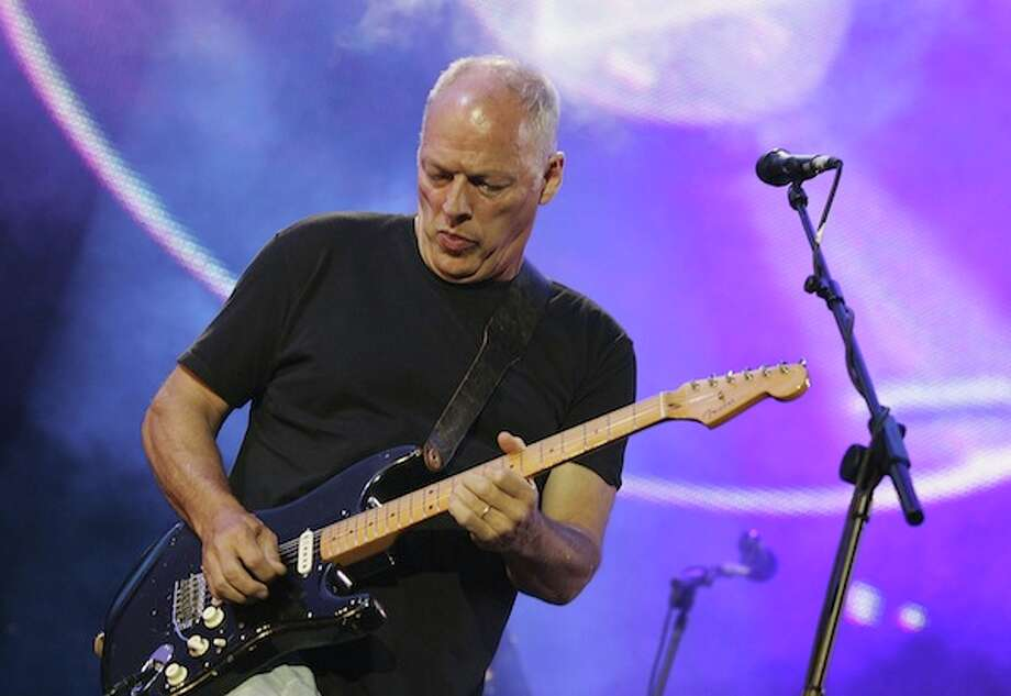 "LONDON - JULY 02:  Dave Gilmour from the band Pink Floyd on stage at ""Live 8 London"" in Hyde Park on July 2, 2005 in London, England.  The free concert is one of ten simultaneous international gigs including Philadelphia, Berlin, Rome, Paris, Barrie, Tokyo, Cornwall, Moscow and Johannesburg. The concerts precede the G8 summit (July 6-8) to raising awareness for MAKEpovertyHISTORY.  (Photo by MJ Kim/Getty Images) *** Local Caption *** David Gilmour Photo: Getty Images / 2005 Getty Images"