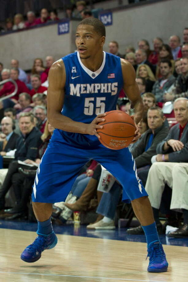 Las Vegas team:  Geron Johnson 6-3, 197 pounds Position: Guard  Johnson averaged 9.6 points per game during his two-year career at Memphis. Photo: Cooper Neill, Getty Images / 2014 Cooper Neill