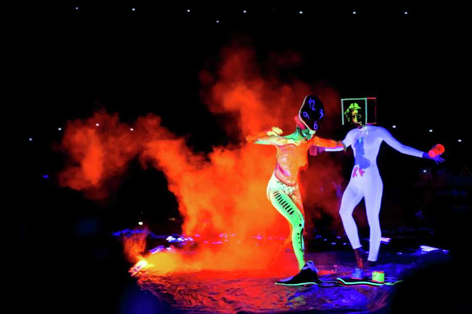 Models pose at the World Bodypainting Festival 2014 on July 4, 2014 in Poertschach am Woerthersee, Austria. Photo: Jan Hetfleisch, Getty Images / 2014 Getty Images