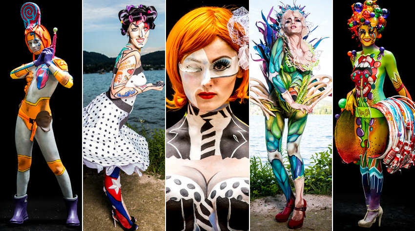 The planet's best body painters spent the weekend in Austria putting their art on models. Click through for a look at the 2014 World Bodypainting Festival.
