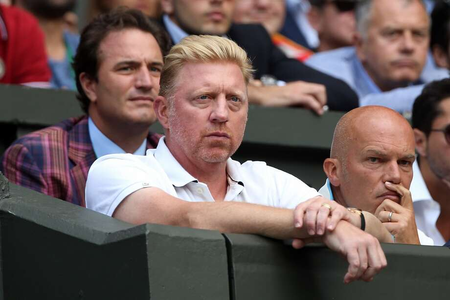 LONDON, ENGLAND - JULY 06:  Boris Becker coach of Novak Djokovic looks on during the Gentlemen's Singles Final match between Roger Federer of Switzerland and Novak Djokovic of Serbia on day thirteen of the Wimbledon Lawn Tennis Championships at the All England Lawn Tennis and Croquet Club on July 6, 2014 in London, England.  (Photo by Matthew Stockman/Getty Images) Photo: Matthew Stockman, Getty Images