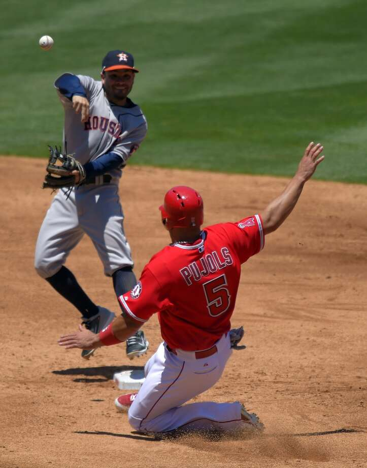 July 6: Angels 6, Astros 1The slumping Astros weren't able to avoid the sweep in Los Angeles to their division rivals as Houston's losing streak hits seven games.   Record: 36-54. Photo: Mark J. Terrill, Associated Press