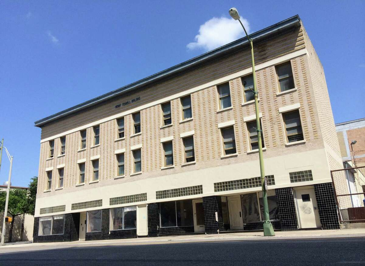 The circa-1908 Henry Terrell building at 212 N. Alamo St. is being converted into one- and two-bedroom residential units.