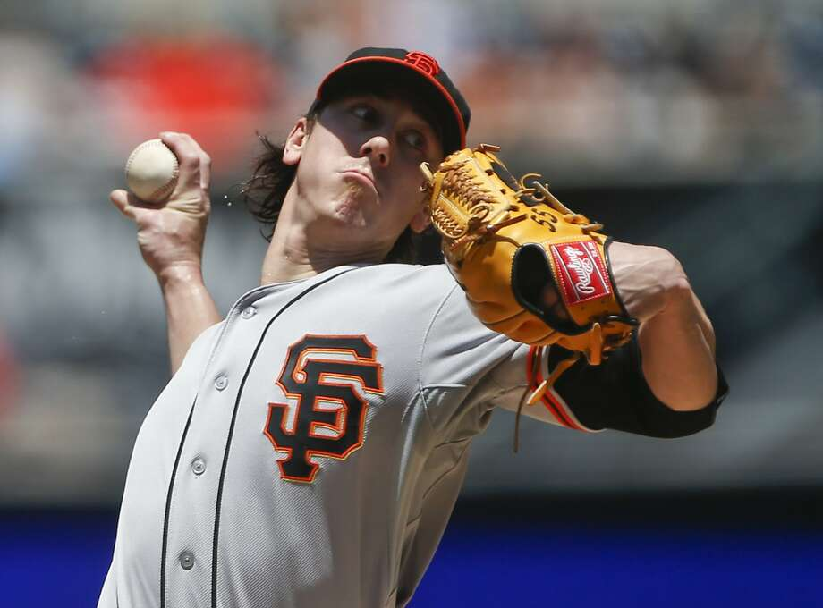 Tim Lincecum, who no-hit the Padres last month, held them to one run on three hits in 61/3 innings  Sunday. Photo: Lenny Ignelzi, Associated Press
