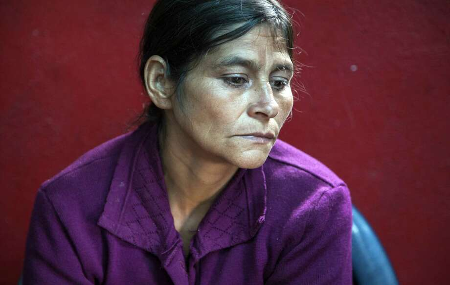 Cipriana Juarez Diaz is the mother of Gilberto Francisco Ramos Juarez, 11, a Guatemalan boy who died trying to cross the border into the Valley. Photo: Luis Soto / Associated Press / AP
