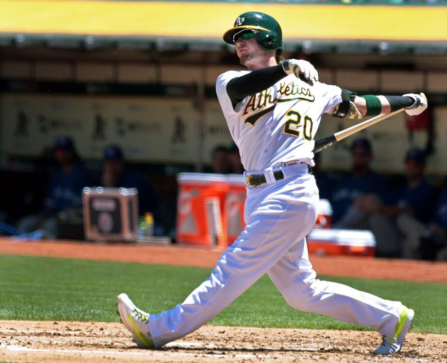 Third baseman Josh Donaldson became the A's first position player since 2000 to be voted an American League starter. Photo: Kevin N. Hume, The Chronicle
