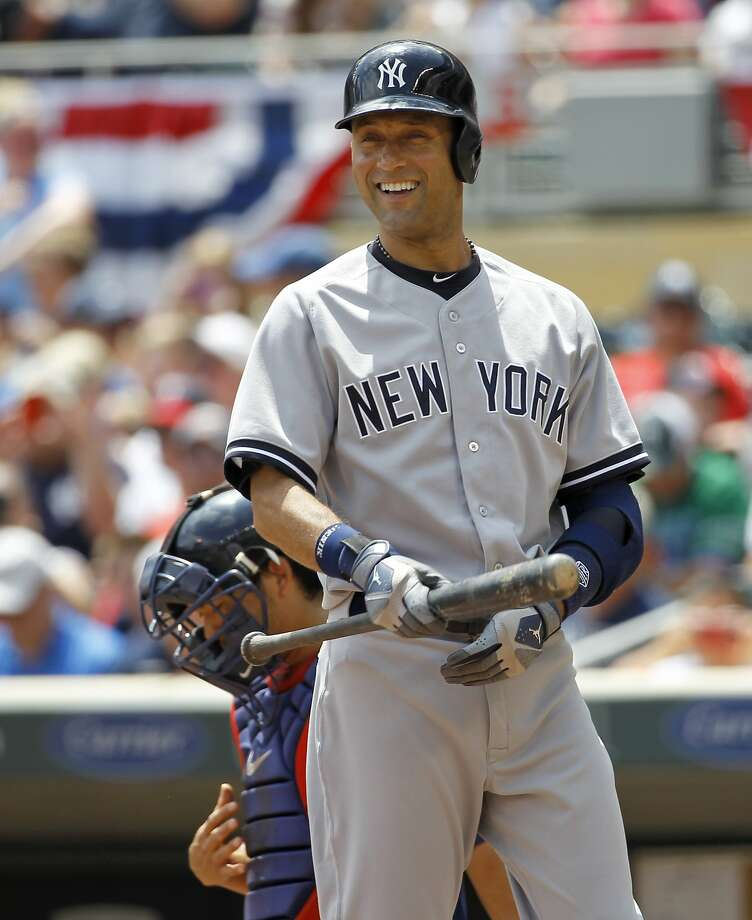 Derek Jeter was selected  as an All-Star for the 14th time. Photo: Ann Heisenfelt, Associated Press