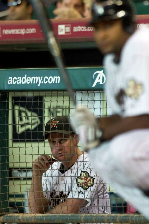 2007: Roy Oswalt Oswalt's last All-Star season with the Astros ended with 17-7 record and a 3.18 ERA. Photo: Brett Coomer, Chronicle / Houston Chronicle