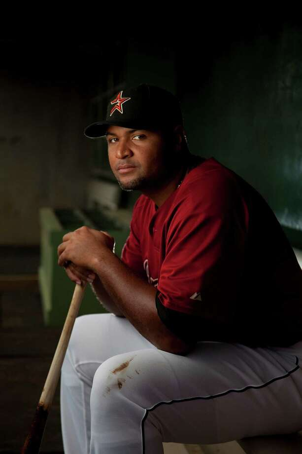 2007: Carlos Lee Lee' first season was his best to date, with 32 home runs and a .303 batting average. Photo: Smiley N. Pool, Chronicle / Houston Chronicle