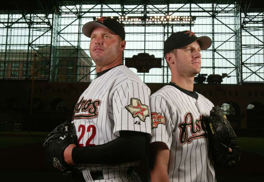 2005: Roger Clemens and Roy Oswalt Clemens was the last starting pitcher outside of Oswalt to go to an All-Star game as an Astros pitcher. This was also the first All-Star game for Oswalt who pitched one inning. Photo: Karen Warren, Chronicle / Houston Chronicle