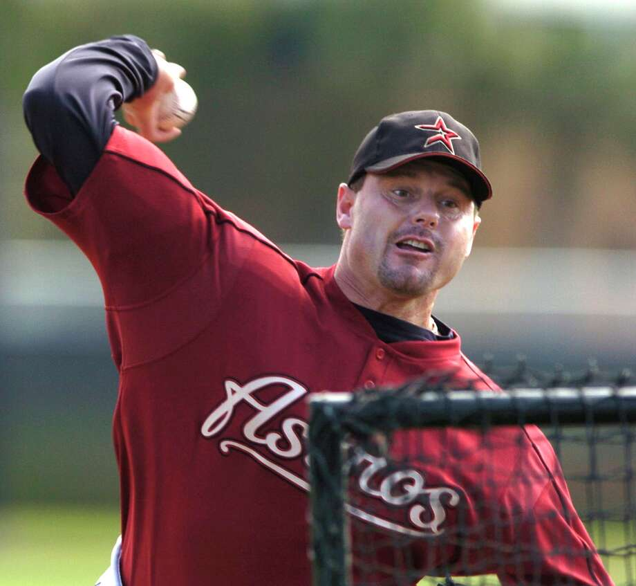 2004: Roger Clemens Clemens became the first pitcher to win the Commissioners Historic Achievement Award. Photo: Karen Warren, Chronicle / Houston Chronicle