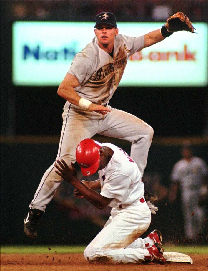 1995: Craig Biggio Biggio led the National League with 123 runs and he was hit by a pitch 22 times. Photo: MARY BUTKUS, AP / AP