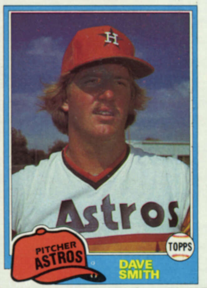 1990: Dave SmithSmith's last season as an Astros ended with an All-Star game, a 6-6 record and a 2.39 ERA. / Handout