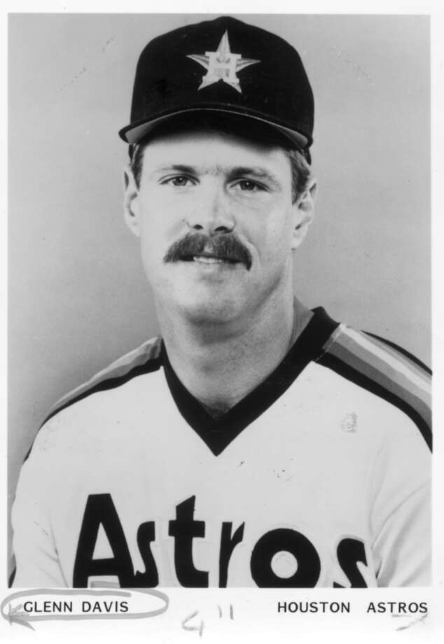 1986: Glenn DavisDavis continued to develop and played his first full season. He hit 31 home runs and he had a .265 batting average. Photo: Unknown / handout print