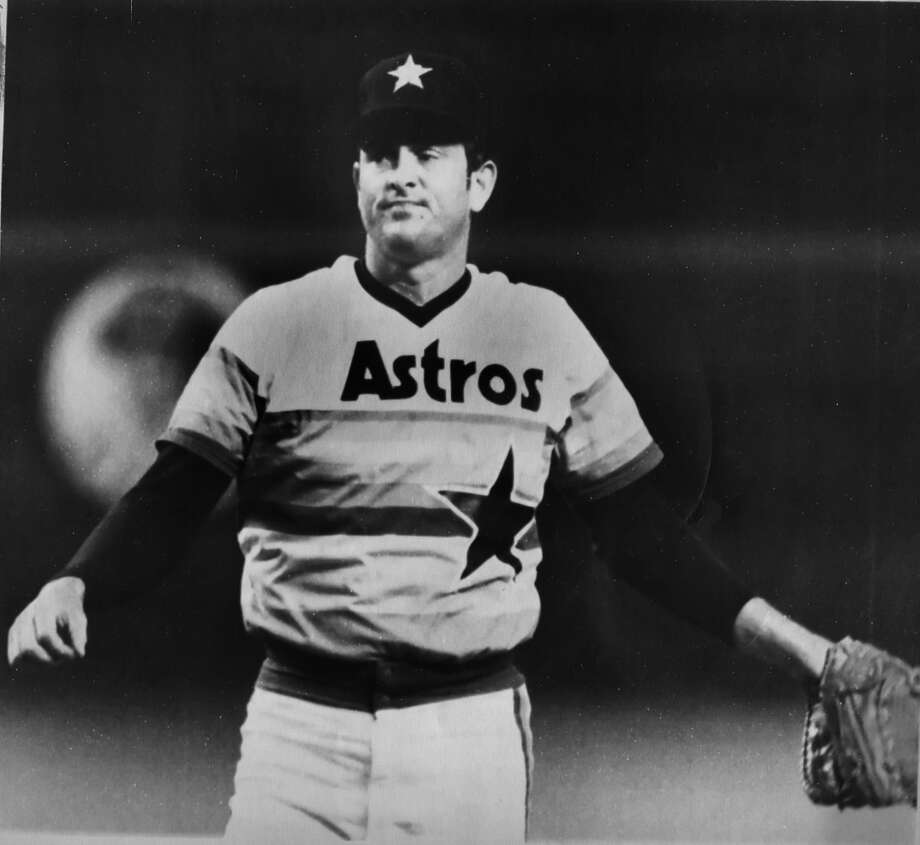 1985: Nolan RyanRyan's last season as an Astros All-Star ended with a 10-12 record and a 3.80 ERA. Ryan struck out 209 batters and walked 95. Photo: Chronicle / handout email