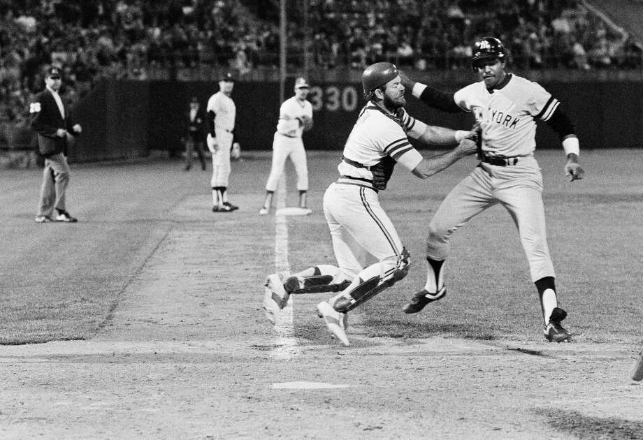 1984: Jerry MumphreyMumphrey matched his career high, at the time, in home runs with nine and he finished the season with 83 RBIs and 15 stolen bases. Photo: Anonymous, ASSOCIATED PRESS / AP1981