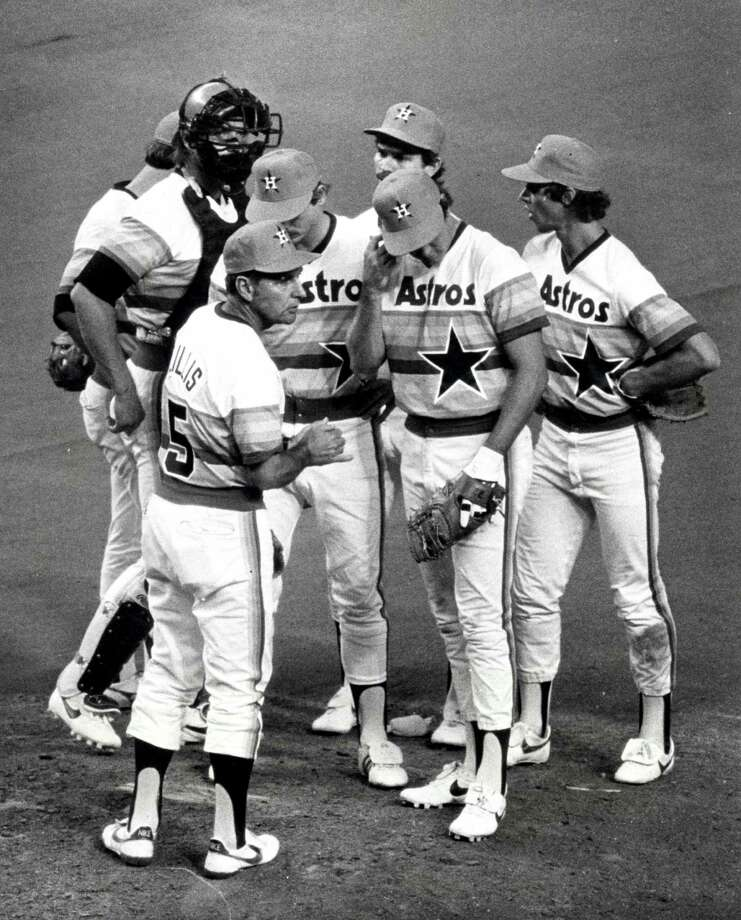 1982: Ray KnightKnight's first season as an Astro  ended with 6 home runs and a .294 batting average. Photo: Steve Campbell, Chronicle / Houston Chronicle