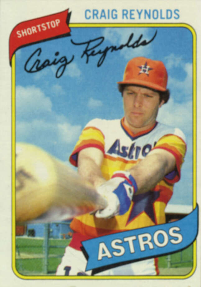 1979: Craig ReynoldsThe native Houstonian posted 147 hits, nine triples and a .265 batting average. / Handout