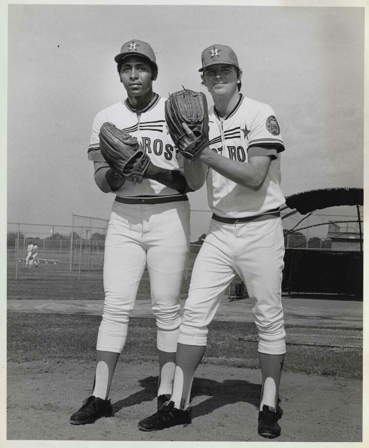 1971: Don Wilson and Larry DierkerDierker's last All-Star season ended with a 12-6 record and a 2.72 ERA.Wilson's All-Star season ended with a 16-10 record and a 2.45 ERA. Photo: Gulf Photo / handout