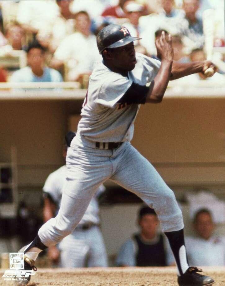 1967: Jimmy WynnWynn hit a career high 37 home runs and 107 RBIs. Wynn also struck out 137 times. Photo: Chronicle / handout/print