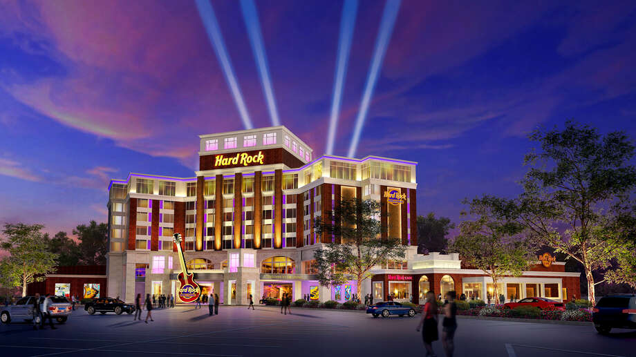 Rendering of the proposed Hard Rock Hotel and Casino in Rensselaer, N.Y. Photo: Cindy Schultz / 00027431A