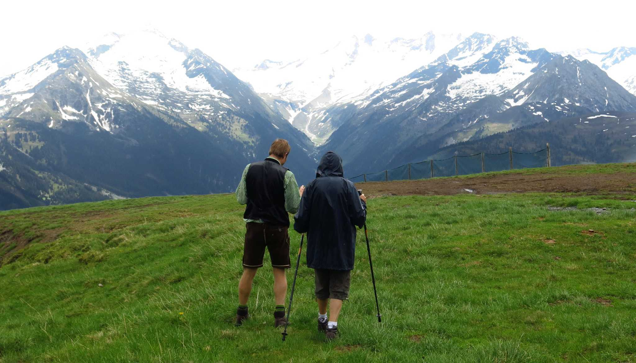 learn to yodel on the austrian alps u0026 39  first yodel hiking