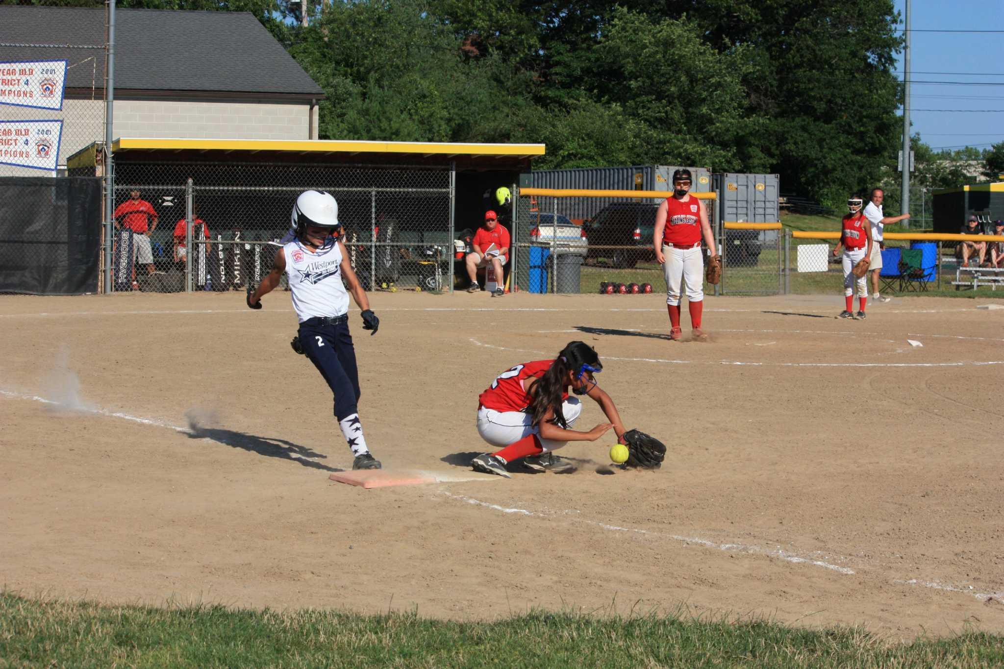 Westport Little League softball falls in Division 1 playoffs