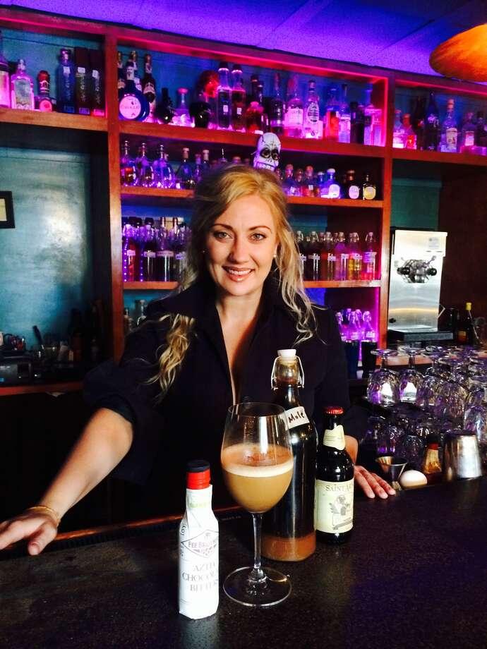 Houston bartender Sheridan Fay at El Big Bad, Houston. Photo: El Big Bad / El Big Bad