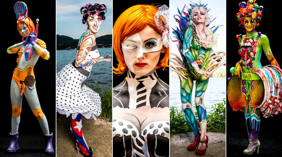 The planet's best body painters spent the weekend in Austria putting their art on models. Click through for a look at the 2014 World Bodypainting Festival. Photo: Getty Images