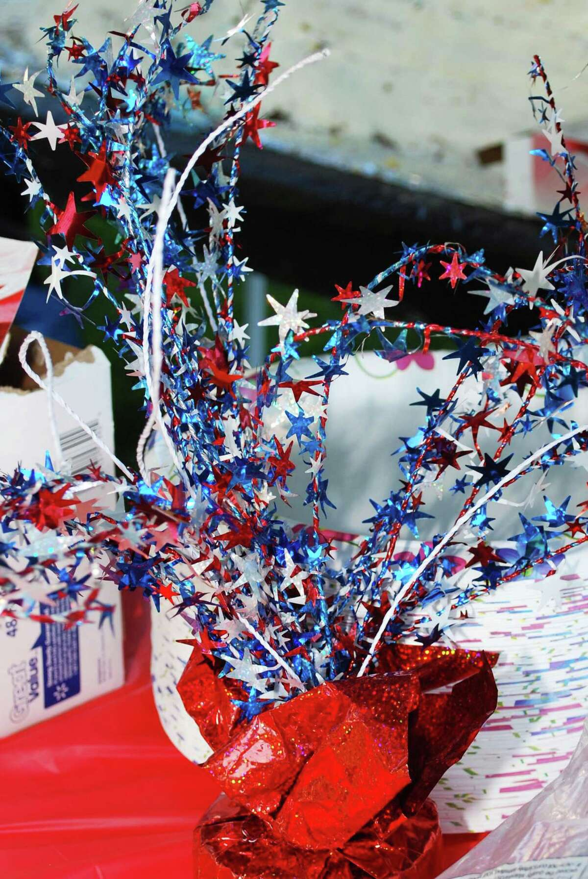 July 4th decorations are a must buy but wait until the holiday nears to see the best possible price.