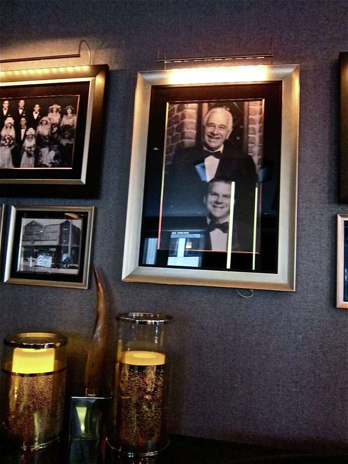 Landry's Signature Group includes high-end restaurants like Vic & Anthony's. The New York site features a portrait of Tilman Fertitta with his father, Vic, for whom the steakhouse chain is named. Photo: Alison Cook, Hc