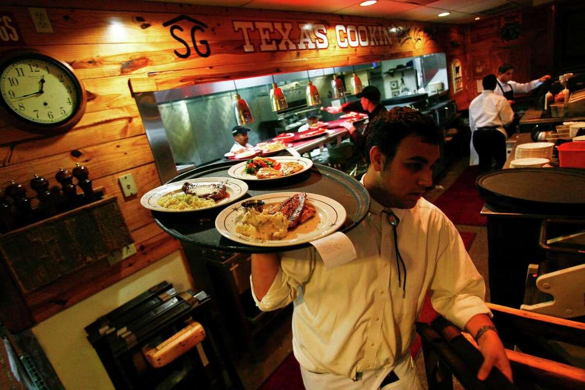 Bronze: Saltgrass Steak House 4511 West Loop 250 North, Midland, TX 79707, 432-699-0476, www.saltgrass.com