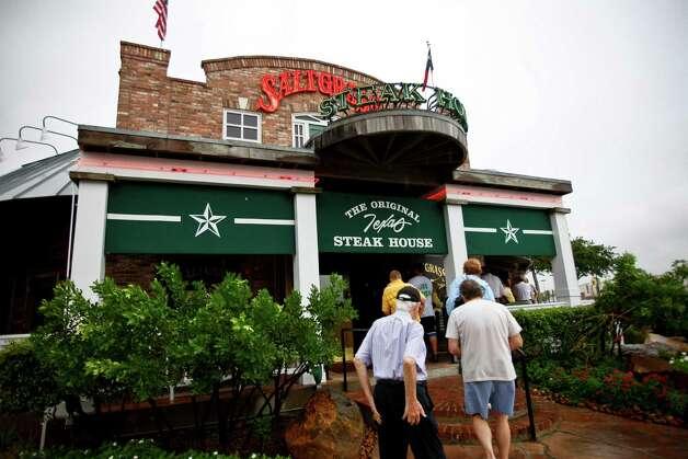 Landry's IncSaltgrass Steak HouseWhere:Find the nearest of 15 area locations here Photo: Michael Paulsen, Hc / Houston Chronicle