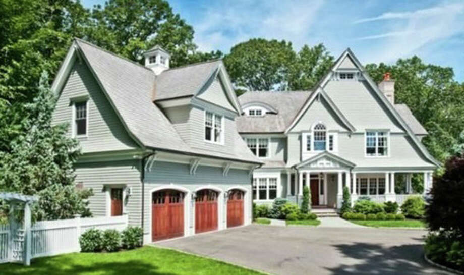 The property at 34 Stony Brook Road was recently sold for $3,125,000. Photo: Contributed Photo / Westport News
