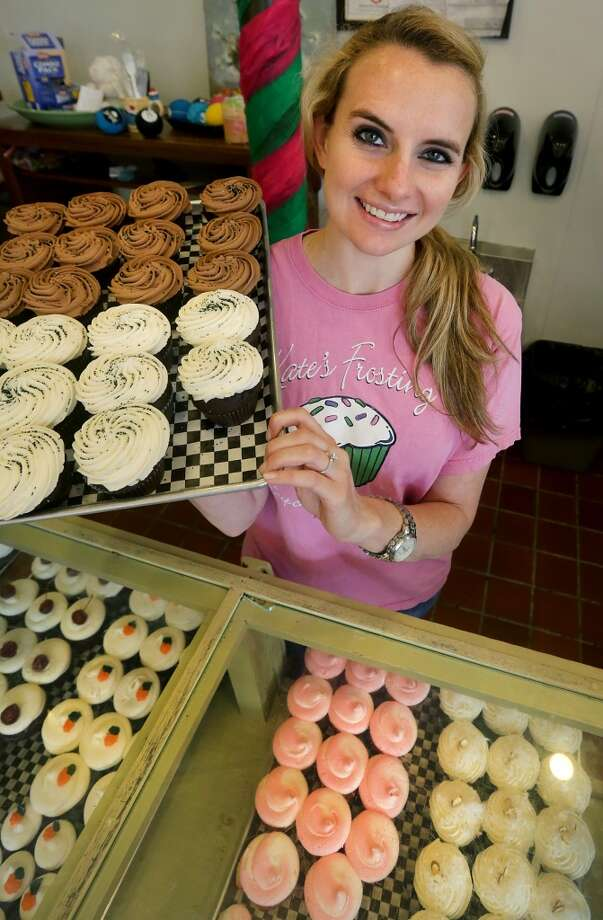 Kate's Frosting is a bakery specializing in cupcakes Photo: Bob Owen, San Antonio Express-News