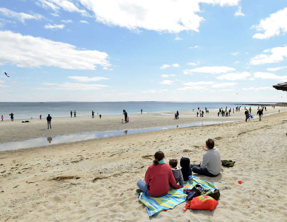 Greenwich Point Park, a 147-acre space nestled on a peninsula overlooking the Long Island Sound, took the top spot in our 'Best of Summer: Picnic Spots' poll. Photo: Bob Luckey / Greenwich Time