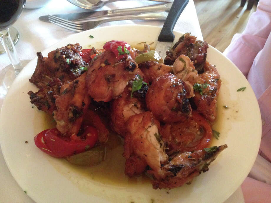 Chicken Scarpiello at La Scagliera in Shelton, Conn. Photo: Contributed Photo / Connecticut Post Contributed