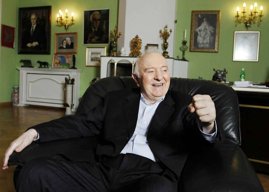 Eduard Shevardnadze, 1928-2014:The foreign minister who helped Soviet leader Mikhail Gorbachev open their country before the fall of communism in 1991 died at age 86 on July 7. Photo: Daro Sulakauri, Bloomberg