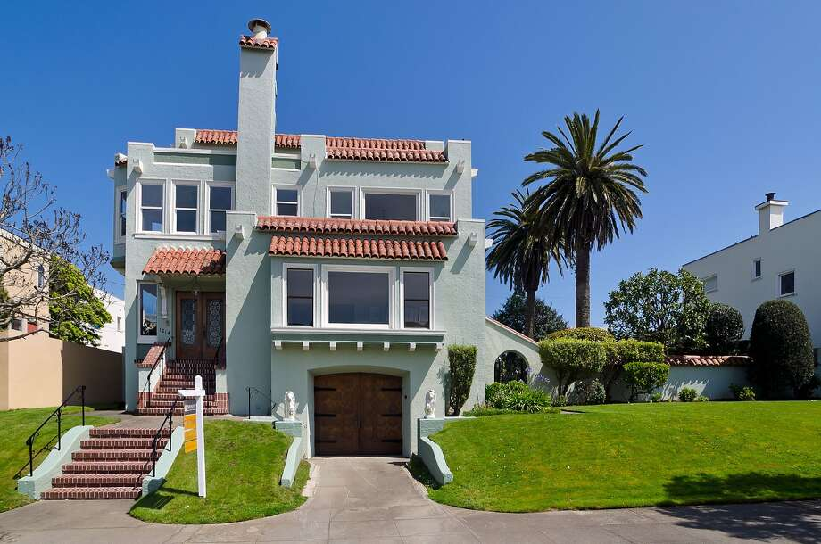 This home on 29th Avenue in the Sunset District sold for $3.15 million on May 12, part of the second-quarter surge. Photo: Paragon Real Estate Group