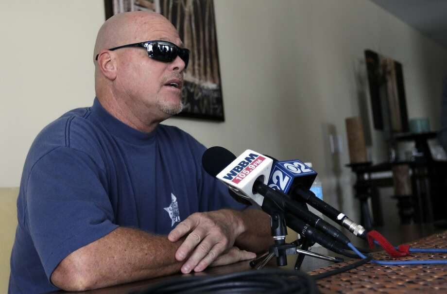Jim McMahon, who has dementia, was among those who sued the NFL. Photo: Stacy Thacker, Associated Press